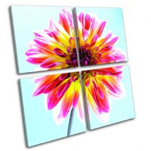 Abstract Flower Floral - 13-1328(00B)-MP01-LO